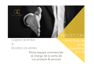 Agence smarketing B to B basée à Lyon vente supplétive